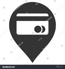 color white atm map marker icon vector style stock vector 470069843 shutterstock