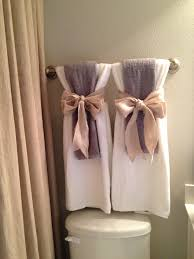decorative bathroom ideas towels pinteres