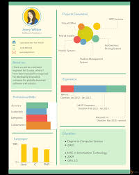 infographic resume templates the recruiters will love creately blog