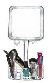 Bathroom Magnifying Mirror by Daisi Magnifying Lighted Makeup Mirror 7x Magnification Led