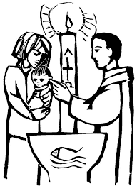 christian baby baptism coloring pages place color