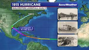 Map Of Galveston Today In Weather History 1915 Galveston Hurricane Abc13 Com