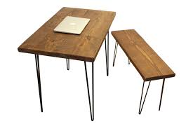 Rustic Wood Office Desk Desk And Bench Table Wood Desk Computer Desk Reclaimed