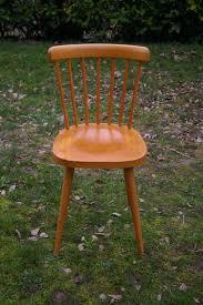 chaise de cuisine bois chaise de cuisine chouette vintage