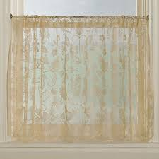 Cheap Lace Curtains Sale Decoration Bistro Curtains For Kitchen Lace Valances For Living