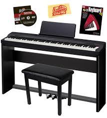 amazon com casio privia px 160 digital piano bundle with casio