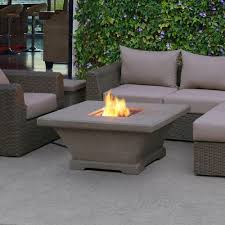Outdoor Propane Fireplace Uniflame 32 In Propane Gas Fire Pit Gad1325sp The Home Depot