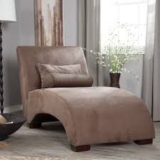 Chaise Lounge Cushion Slipcovers Curving Brown Velvet Lounge Chair With Back And Small Cushions