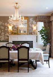 27 splendid wallpaper decorating ideas for the dining room create a lovely accent wall with beautiful wallpaper design charmean neithart interiors