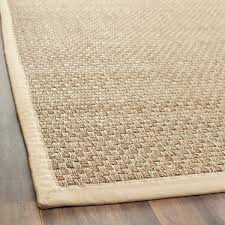 2 X 4 Kitchen Rug Safavieh Casual Fiber And Beige Border Seagrass