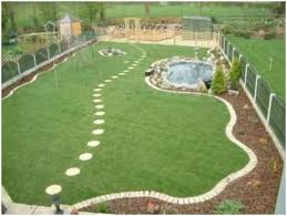 backyards modern how to landscape a big backyard landscaping