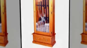 Wood Gun Cabinet Gun Cabinets How To Take Care Of Your Wood Gun Cabinet Video