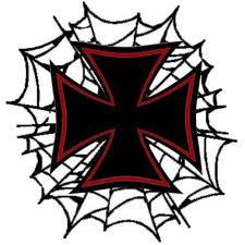 biker maltese cross designs tattooic