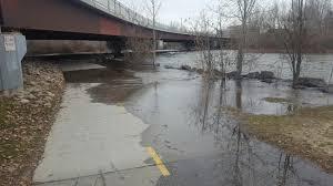Boise Greenbelt Map Boise River Flooding Greenbelt And Prompting Emergency