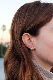 tiny hoop earrings best 25 small gold hoop earrings ideas on gold hoop