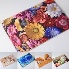 kchen tapeten modern aliexpress buy anti slip 3d modern print bath mat doormat