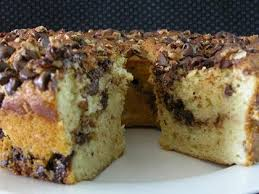chocolate chip sour cream coffee cake recipe myrecipes