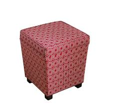 Ottoman Red by Remarkable Red Round Ottoman Tife Interior Furniture Design