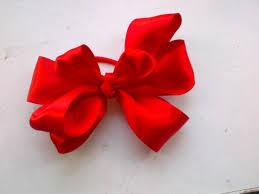 ribbon ponytail my treasures ribbon bow ponytail holder folaswelt