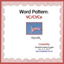 vc cvce word pattern by dyslexia and multisensory education tpt