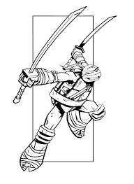 Ninja Turtles 16 Superheroes  Printable coloring pages