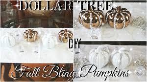diy dollar tree home decor diy dollar tree bling fall pumpkins diy dollar tree fall decor