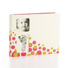pearhead photo album achica álbum de recuerdos con huella de bebé de pearhead