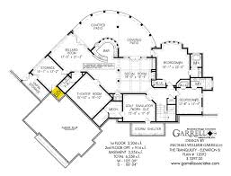 Luxury House Plans With Basements by Tranquility Elevation B House Plan House Plans By Garrell