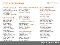 contributors u2014 equity by design eqxd