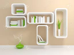 furniture modern white bookshelf with a white and green books modern white bookshelf with a white and green books against beige wall new 2017