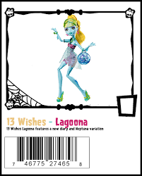13 Wishes Lagoona 13 Wishes Unofficial Monster High Checklist