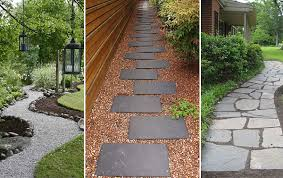 Walkway Ideas For Backyard by Download Backyard Walkway Garden Design