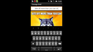 create and browse memes on android with gatm meme generator