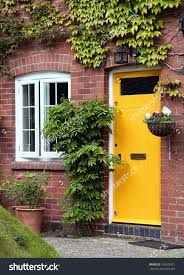 Exterior Door Colors Yellow Brick House Front Door Color Homes Exterior Schemes For
