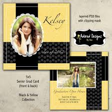senior graduation announcement templates free graduation invitation templates cloveranddot