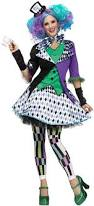 Womens Mad Hatter Halloween Costume Womens Mad Hatter Alice Wonderland Costume Costume Craze