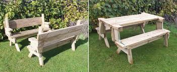 picnic table converts to bench picnic table bench plans pdf computer built into desk plans picnic