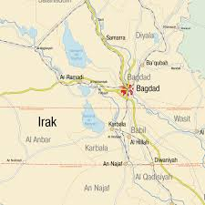 map of irak map of iraq maps and directions at map