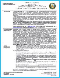 resume summary section perfect correctional officer resume to get noticed how to write perfect correctional officer resume to get noticed image name
