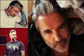 haircut for older balding men with gray hair men hairstyles best haircut for balding men lose your hair in