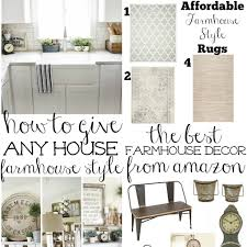 giving any house a farmhouse style look simply house to home