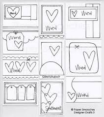 97 best card sketches u0026 layouts images on pinterest card