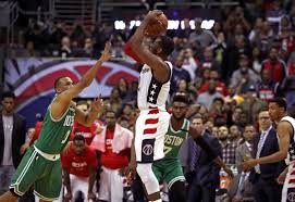 wizards beat celtics on john wall u0027s 3 pointer to force game 7