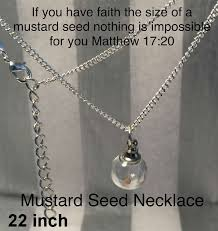 faith of a mustard seed necklace mustard seed necklaces jewelry christian store