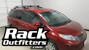 toyota sienna europe toyota sienna outfitted with yakima timberline corebar roof rack