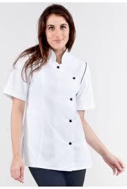 cuisine femme veste de cuisine femme blanc garni noir delca rozen