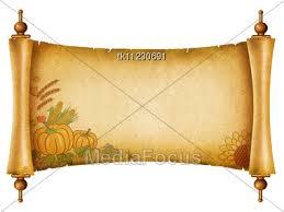 stock photo scroll pumpkins paper texture text image