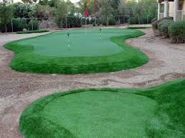 synthetic grass cost reynoldsburg ohio home putting green backyard