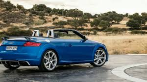 2018 audi tt rs roadster it also has less trunk space youtube