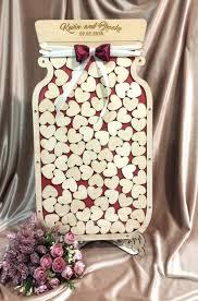 Wedding Guest Book Ideas Mason Jar Wedding Guest Book Alternative Unique Wedding Guest Book